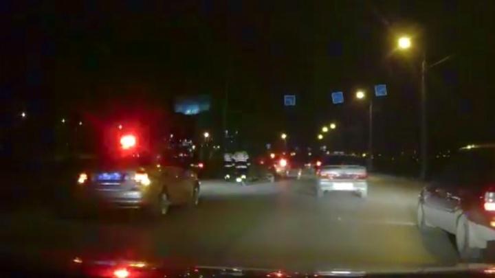 Полиция в пятничный вечер устроила облаву на «уставших» водителей в Волгограде