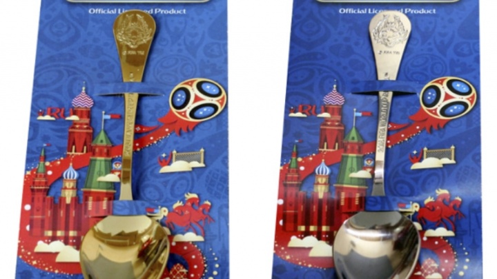 Прикамский завод выпустил ложки с символикой чемпионата мира по футболу