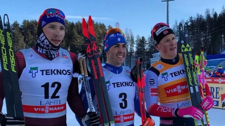 Тюменский лыжник Глеб Ретивых стал вторым в спринте на этапе Кубка мира