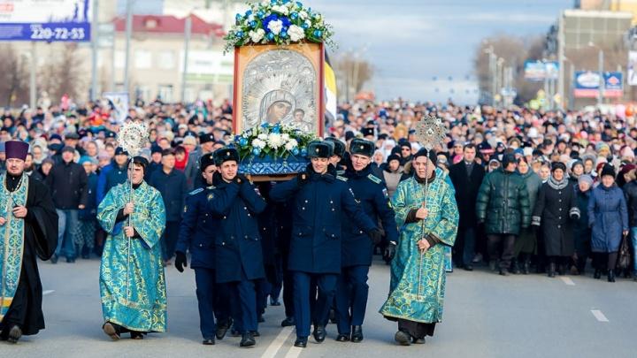 Тысячи челябинцев вышли на крестный ход в День народного единства
