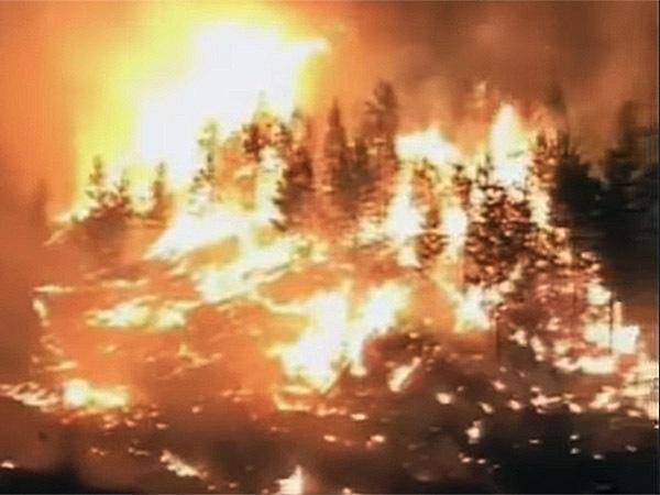 кадр из видео/Катаклизмы и катастрофы природы/YouTube