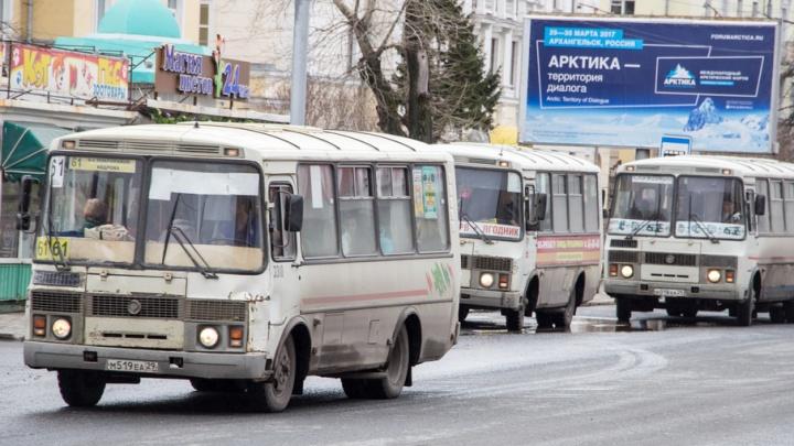 В Архангельске начнут борьбу с «порнографией» на транспорте