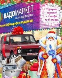 В Перми стартовал чудесный «НАДОмарафон» новогодних подарков