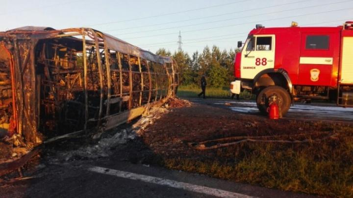 В Самаре могут лишить лицензии перевозчика, автобус которого сгорел в Татарстане