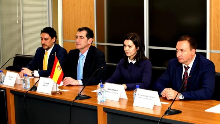Ветроэнергетика, транспорт и семена: испанцы предложили проекты ростовским бизнесменам