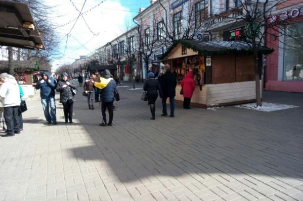 Такие домики находятся на улице Кирова