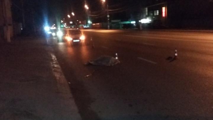 На Второй Продольной Lada насмерть сбила пешехода