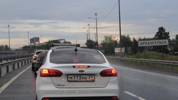 Ограничение скорости введено на двух участках Архангельского шоссе