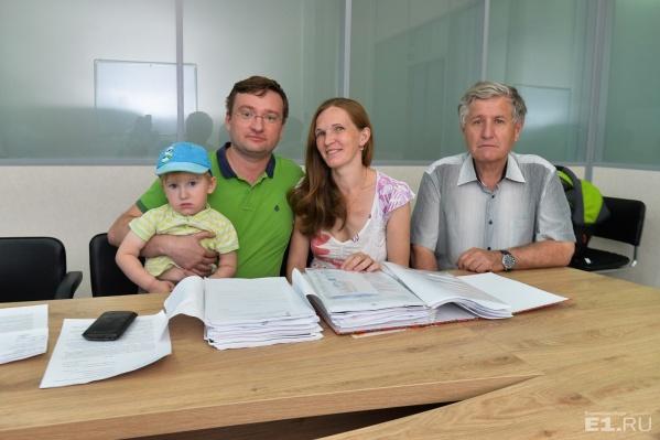 Семья Сапегиных решила судиться с детским садиком.