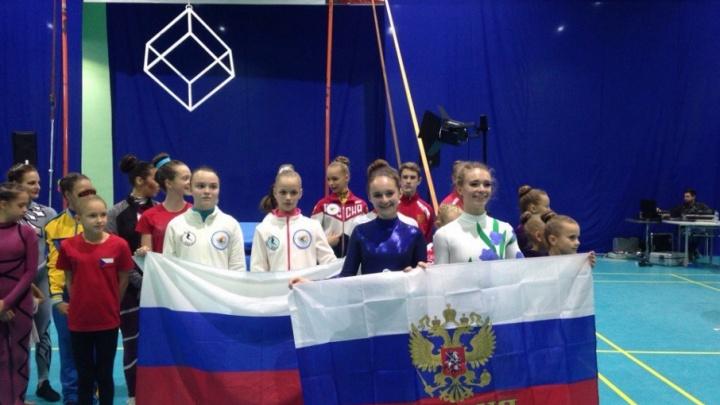 Поморские спортсменки взяли три медали на первенстве Европы по воздушно-силовой атлетике
