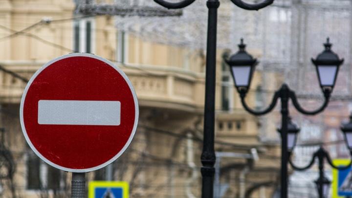 На полмесяца ограничат движение по улице Лермонтовской