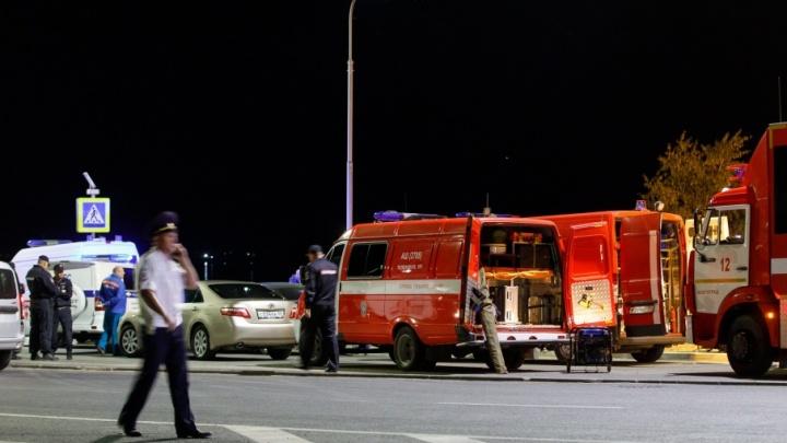 Катамаран и грузовая баржа столкнулись на Волге напротив Волгограда: одиннадцать  погибших