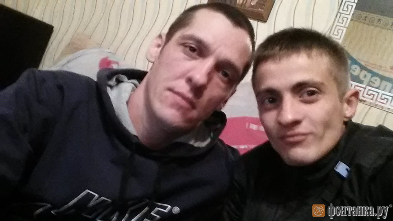 Cлева – Андрей Шарипов, справа – Петр Нафиков.