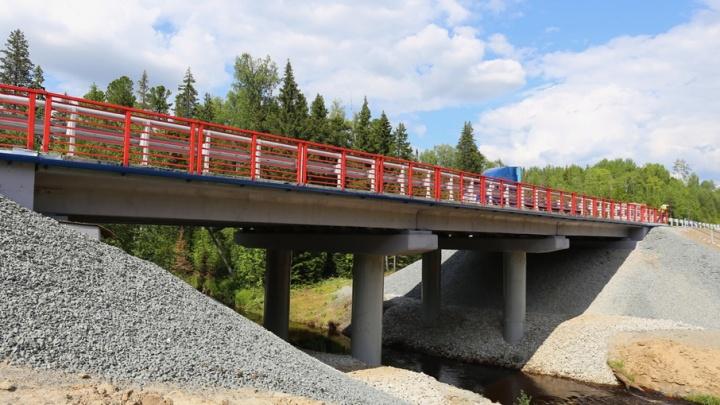 Федеральную трассу Тюмень–Ханты-Мансийск отремонтировали на два месяца раньше срока
