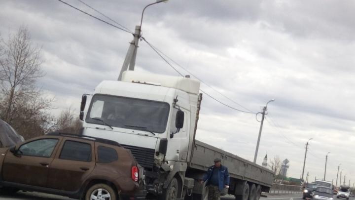 В аварии на трассе Тюмень — Омск пострадала 66-летняя пенсионерка