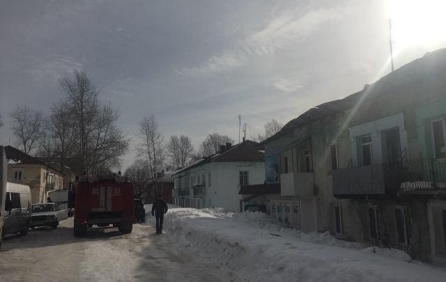 В Александровске обрушилась кровля жилого дома