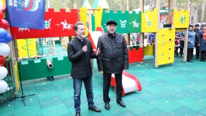 «Позорище за 20 миллионов»: Варламов раскритиковал новую детскую площадку в челябинском парке