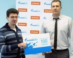 Ярославский автолюбитель выиграл топливо G-Drive