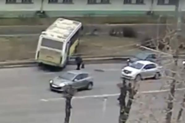 Никто из пассажиров не пострадал