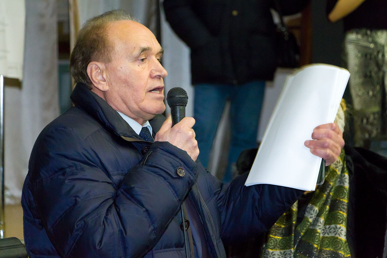 Бывший глава Общественной палаты области Вячеслав Скворцов высказался за дорогу вне СНТ