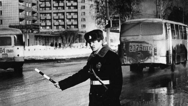 День ГИБДД: вспоминаем историю пермской Госавтоинспекции