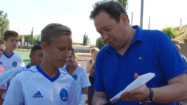 «МегаФон» осуществил мечту лучшего футболиста волгоградской школы Слуцкого