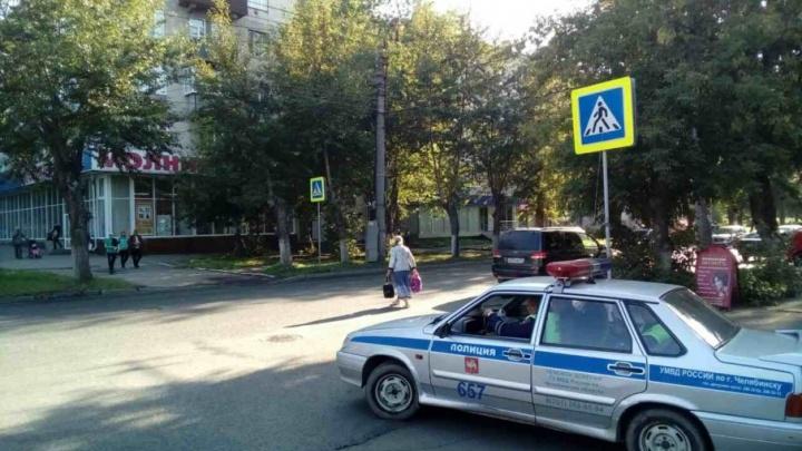 В Челябинске школьник на велосипеде попал под машину
