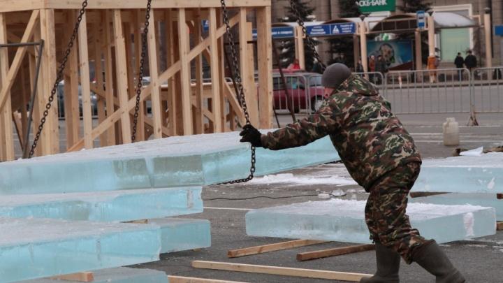«Разнообразия инженерной мысли не будет»: челябинцам презентовали проект ледового городка