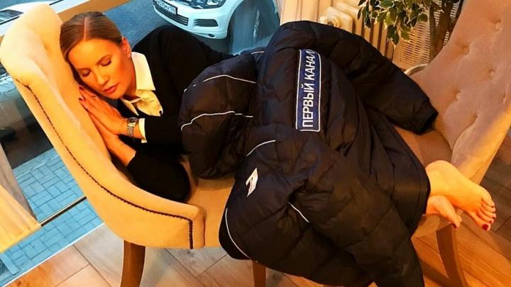 Елена Летучая вздремнула в Волгограде в кафе «Маруся»