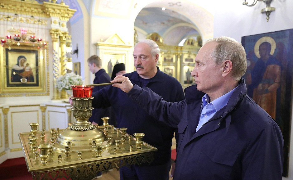 Коневец. Фото пресс-службы президента РФ