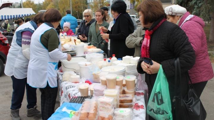 «Колбаса как в детстве»: что продают на сельхозярмарках в Самаре