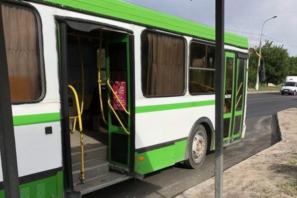 На остановке высадили больше 20 пассажиров