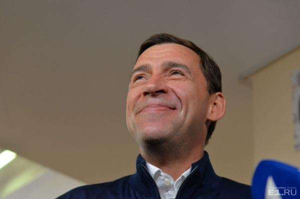 Евгений Куйвашев недавно снова официально стал губернатором Свердловской области.