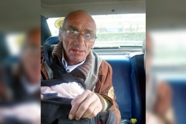 Виктор был найден в центре социальной помощи