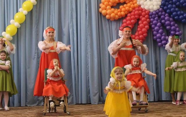 «Особенные» дети показали себя в танцевальном конкурсе «Вдохновение»