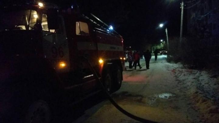 После пожара в селе Березовка, в котором погибли четыре человека, возбудили уголовное дело