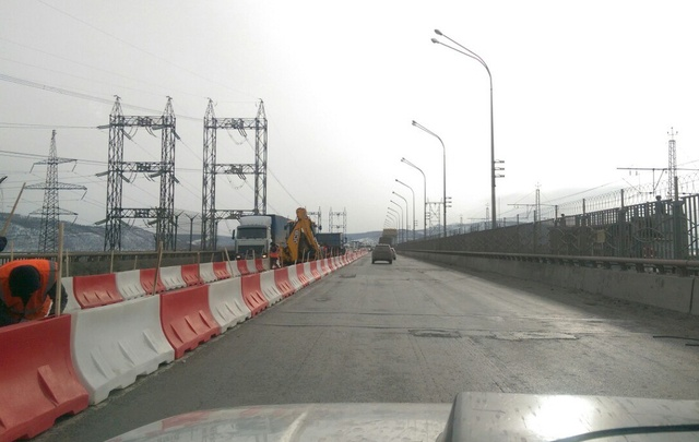 С 10 мая грузовики смогут ездить по дороге на Жигулевской ГЭС только ночью
