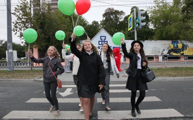 Школьникам открыли «зеленый» коридор