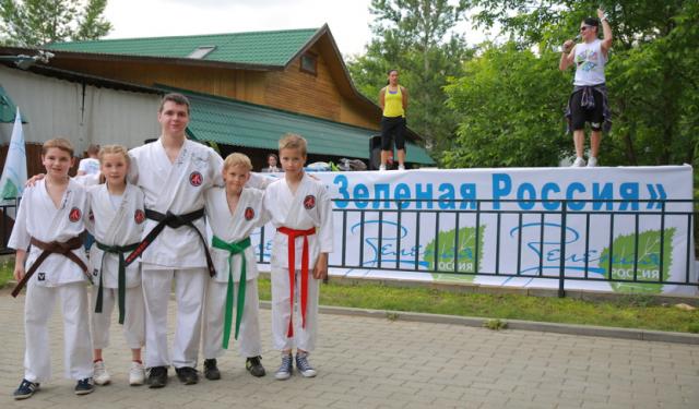 В День города ярославцев с праздником поздравила «Зеленая Россия»