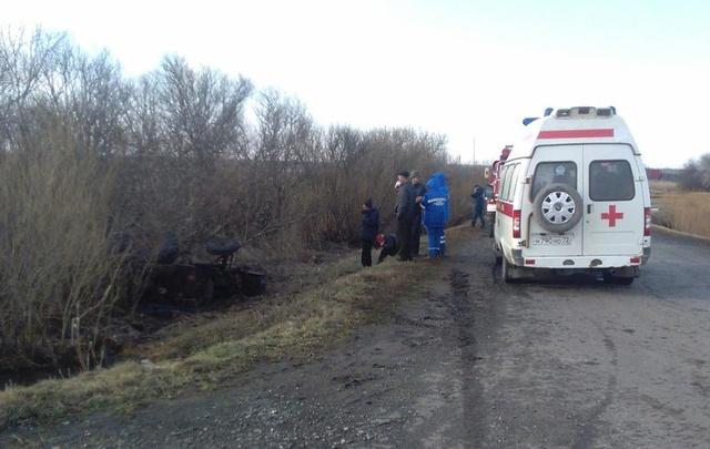 В Тюменской области в аварии погиб тракторист