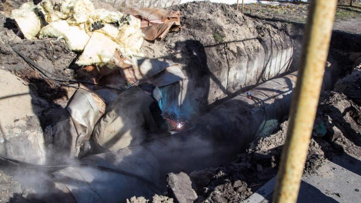 В Октябрьском округе отремонтируют теплотрассу на улице Гагарина