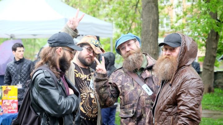 Борода покорит города: в Перми прошел день бородача