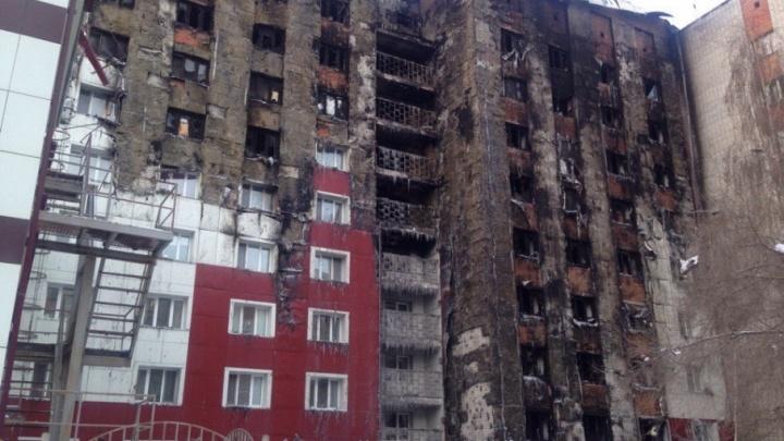 Во время пожара на Олимпийской сгорели 43 квартиры