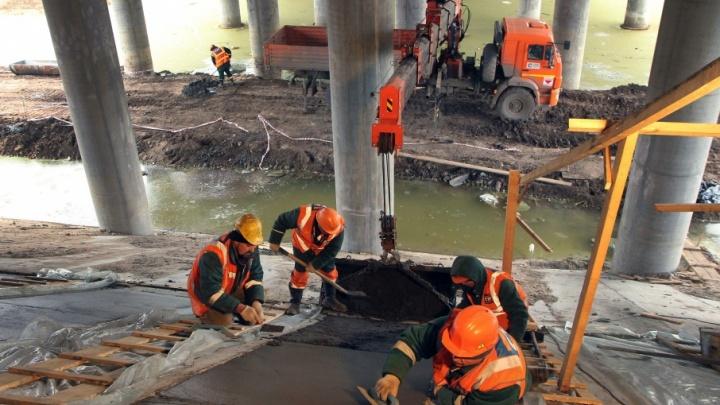 Ростехнадзор недосчитался свай у Фрунзенского моста
