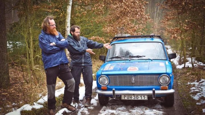 Европейские туристы совершили кругосветное путешествие на тольяттинской «копейке»