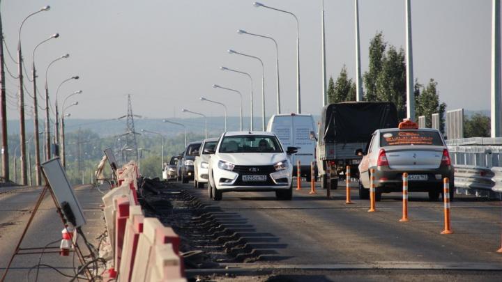 Мэрия Самары рассчитывает принять работы по Южному мосту уже к ноябрю