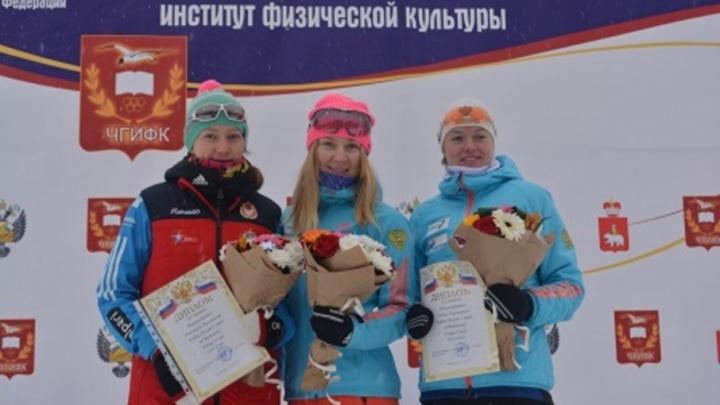 Онежская биатлонистка на этапе Кубка России финишировала второй в гонке на 15 километров