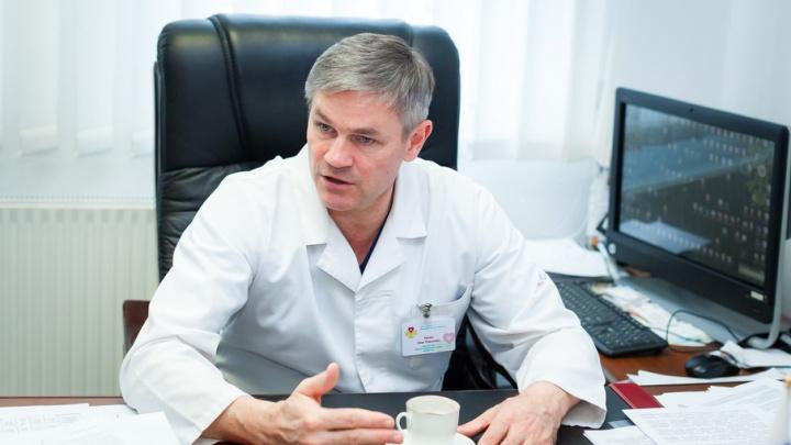 Главный кардиохирург Челябинской области стал заслуженным врачом России