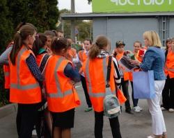 Более 200 школьников побывали на предприятии «Чистый город»