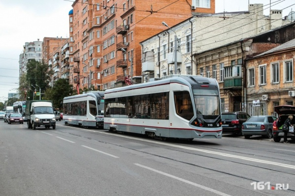 Энергетики обещали обесточить трамваи в случае неуплаты долга